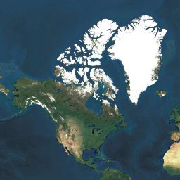 🗺️ satellite World map